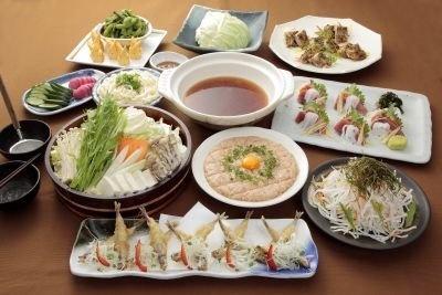 「えこひいき」至福の宴(飲み放題込み全10品3480円)