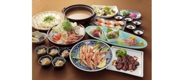 「えこひいき」大繁盛の宴(飲み放題込み全10品4980円)