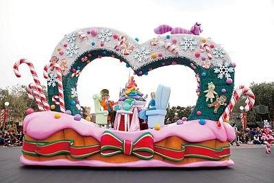 """クリスマスのお茶会を開いている""""ティーパーティー""""ユニット/ホワイトホリデーパレード"""