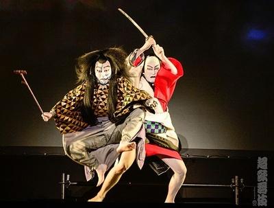 アクロバティックな超歌舞伎