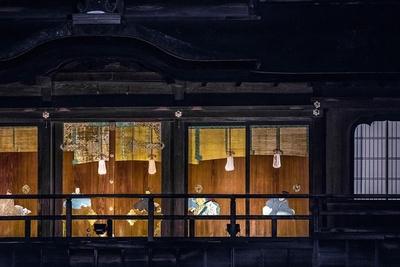 「飛雲閣」は豊臣秀吉が建てた聚楽第の一部ともいわれている