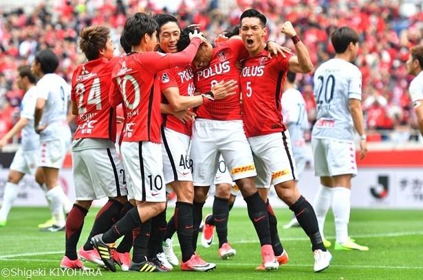 昨季の年間勝ち点1位だった浦和レッズは王者・鹿島と対戦