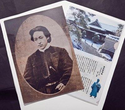 「クリアファイル」(各380円)は、「新撰組グッズ専門店 池田屋」で販売