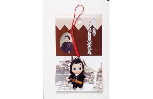 「土方歳三資料館限定キューピー」(500円)は、「新撰組グッズ専門店 池田屋」で販売