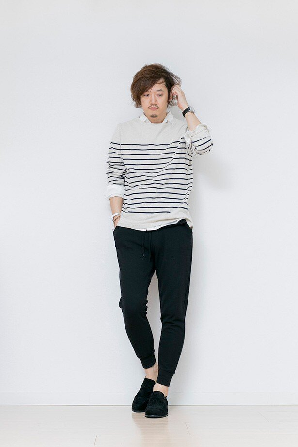 春夏の万能着「バスクシャツ」はユニクロでGET!!