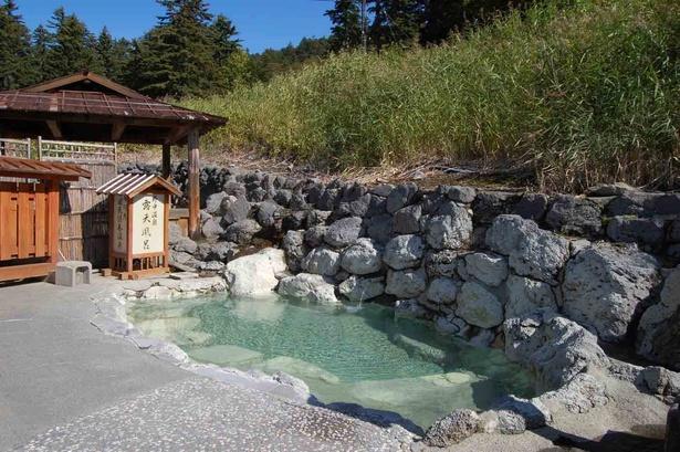 足寄・山の宿 野中温泉/露天風呂