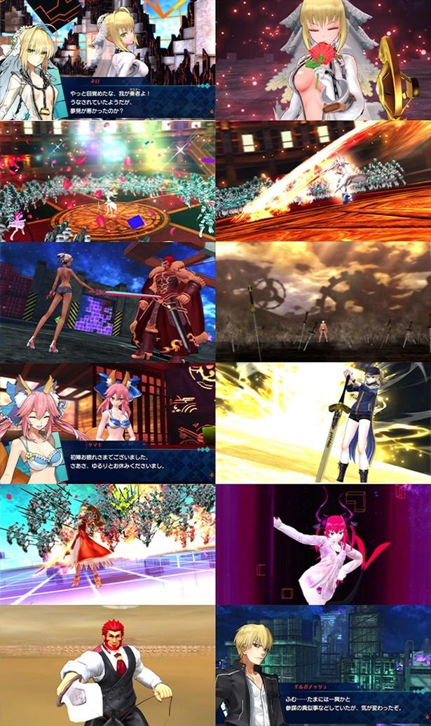 「Fate/EXTELLA」イーゼル付キャンバスアート&switch版のエビテン限定特典デザインを解禁
