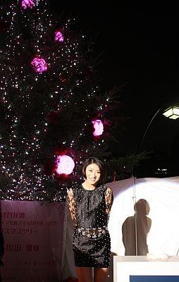 【クリスマスツリーの点灯式も実施!】