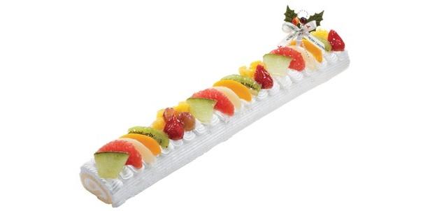 長さ45cm!超ロングのクリスマスケーキはいかが?
