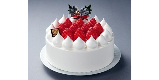 極上クリームでシンプルに勝負した「ローソン」の「UchiCafe SWEETS Premium 苺のショートケーキ6号」(3800円)