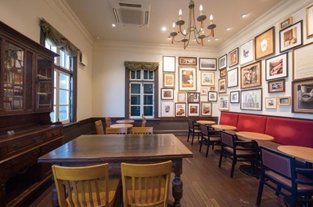 レトロモダンなダイニングルームでカフェを楽しむ/スターバックス コーヒー 神戸北野異人館店