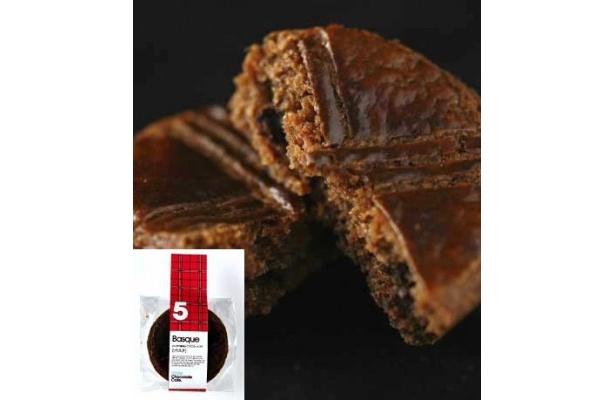 5.バスク/粉ガナッシュをそのまま入れて焼き上げたケーキ