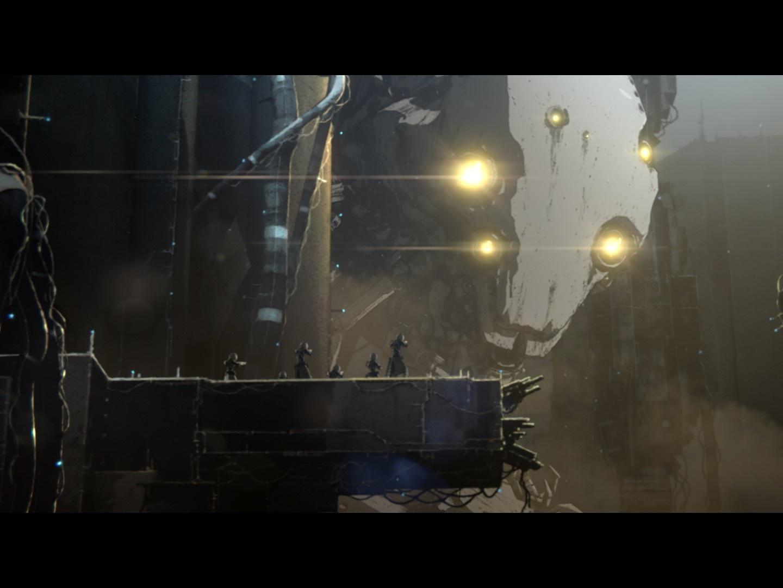 """都市の脅威の防衛力に人々が立ち向かう『BLAME!』(写真)の次に、瀬下監督が描くのは""""ゴジラ""""という大自然的な驚異"""