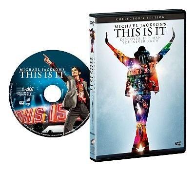マイケル・ジャクソンのラストステージを映画化したドキュメンタリー『マイケル・ジャクソン THIS IS IT コレクターズ・エディション(1枚組)』(2980円)