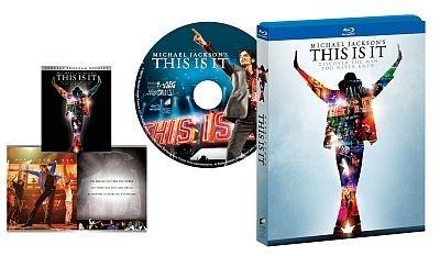 ブルーレイ『マイケル・ジャクソン THIS IS IT 』(4980円)