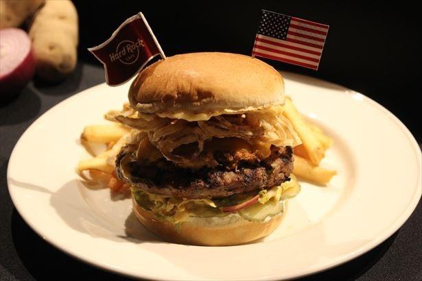 【写真を見る】アメリカメンフィスの酸味の効いたバーガー