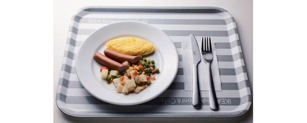 11/16にリニューアルし、広くなってさらに便利になった「IKEA 港北 2Fレストラン」。なんと言っても注目は99円のモーニングプレートだ