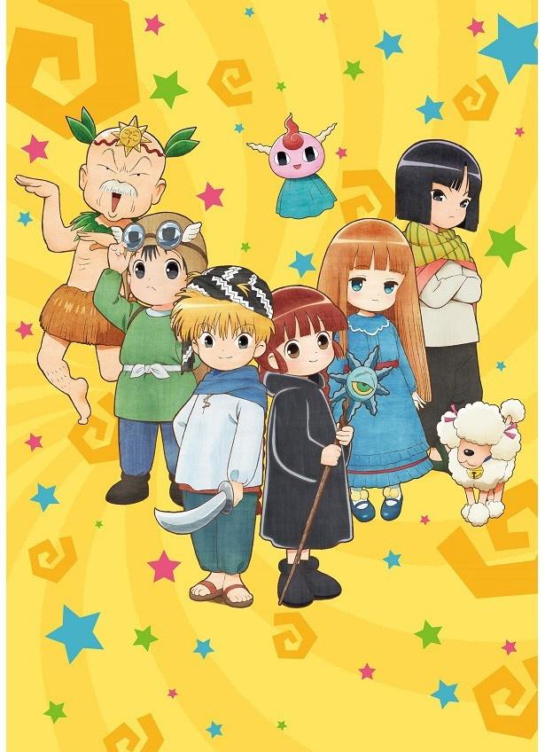 原作連載25周年でテレビアニメ化。「魔法陣グルグル」は今夏にテレビ東京他で放送