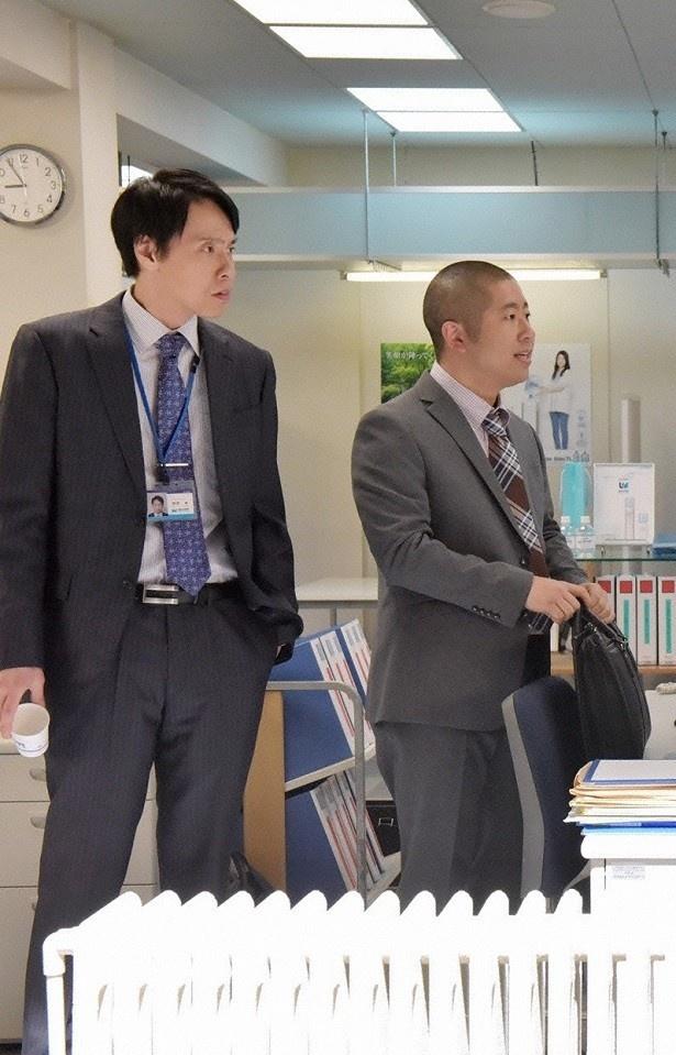 大倉孝二と澤部。コミカルなやりとりが魅力