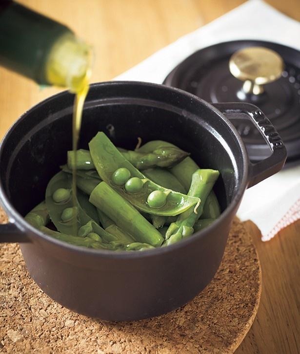 野菜も水なしで蒸せて時短&美味!