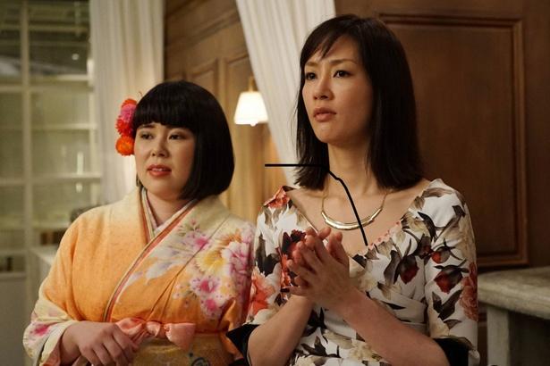 クレエラジャパンの新年会に、聖良は着物姿で登場