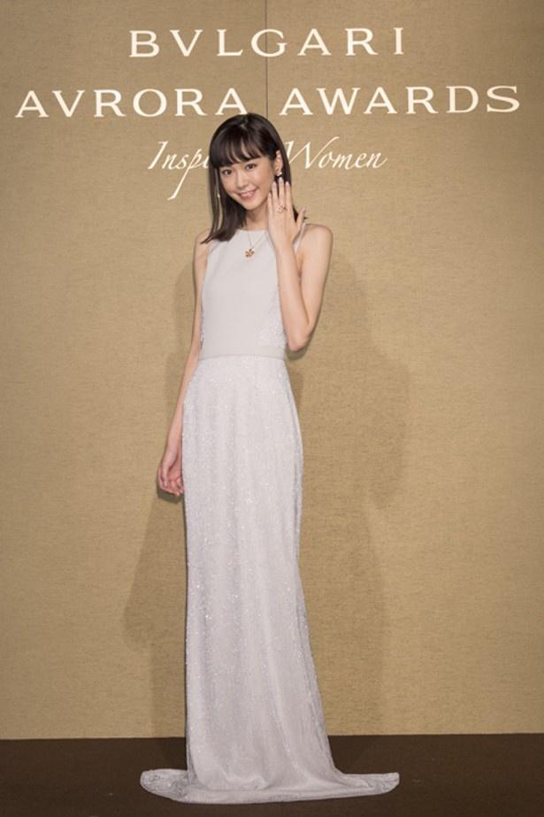 桐谷美玲が「フォロー・ユア・ハート」トークショーに登壇した