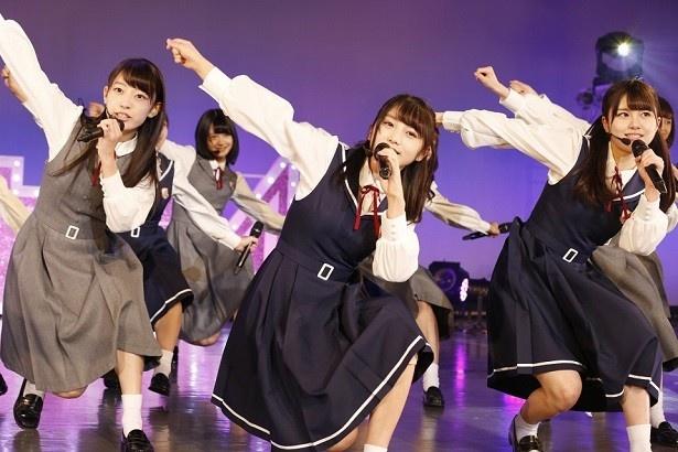 5/9~14の6日間、東京・AiiA 2.5 Theater Tokyoで開催された乃木坂46・3期生の単独ライブ。3期生メンバー12名は千秋楽で完全燃焼!