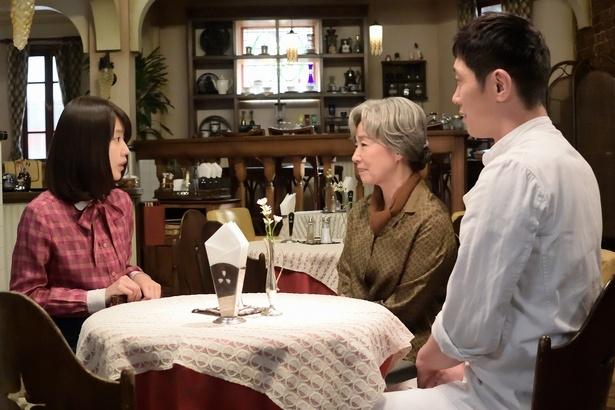 【写真を見る】みね子と鈴木(宮本信子)らの初対面は第6週のハイライトともいうべきシーン