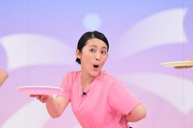 アンガールズと対戦する福田彩乃
