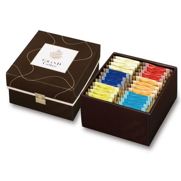 あれも食べたい!これも食べたい!  そんな欲張りな望みをかなえてくれる幸せがいっぱい  詰まったギフトボックス「幸せBOX」