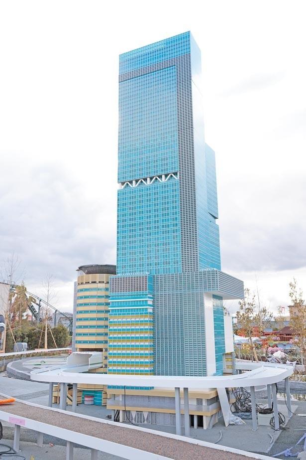 【あべのハルカス】あの高層ビルがレゴ®モデルに。ミニランドでも大きさは最大級/レゴランド®・ジャパン