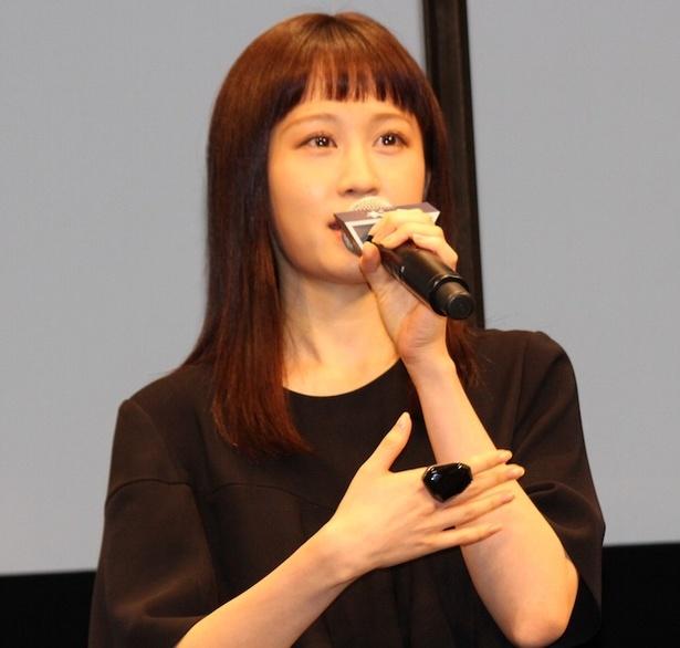カズノ役の前田敦子