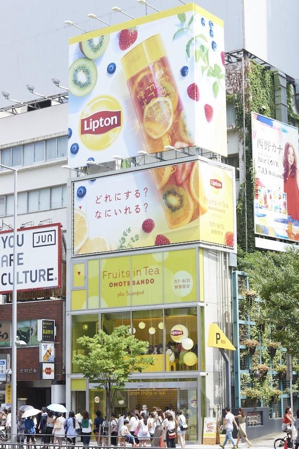 【写真を見る】昨年大人気だった期間限定Fruits in Tea専門店が今年もオープン!