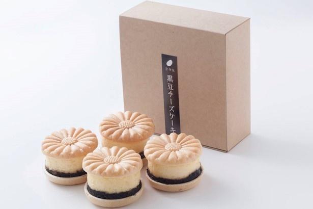 「京丹後黒豆チーズケーキ」は販売開始から3ヶ月で販売個数1000個を突破