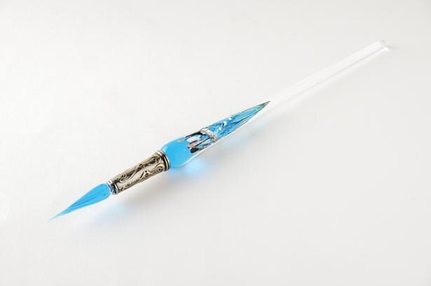 ヴェネツィアンガラスのボルトレッティの「ガラスペン」(7236円 ※インクとセット)/NAGASAWA 神戸煉瓦倉庫店