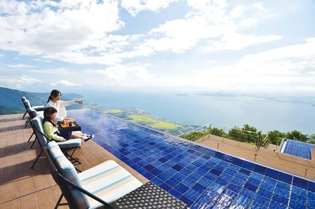 まるで海外のリゾート!びわ湖テラスが超絶景
