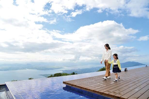 琵琶湖に最も近い第3テラス/びわ湖テラス