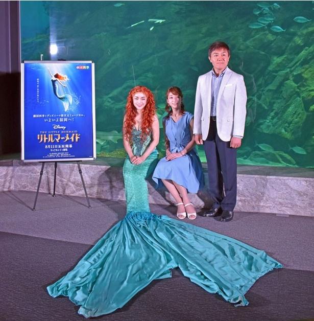8月11日(祝)から、キャナルシティ劇場(福岡市博多)で、劇団四季のディズニーミュージカル「リトルマーメイド」福岡公演の出演候補キャストが登場