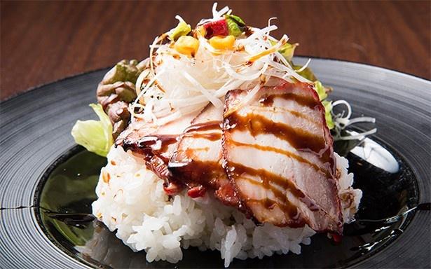 「CUISINE China 凛」の「豚バラチャーシュー丼」