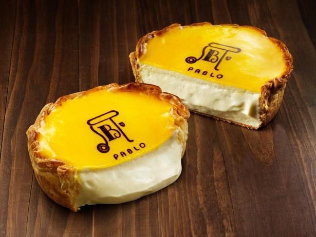 店頭人気No.1 PABLOの焼き立てチーズタルト