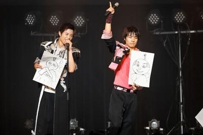 勇翔と決選投票をして見事本田が1位に!