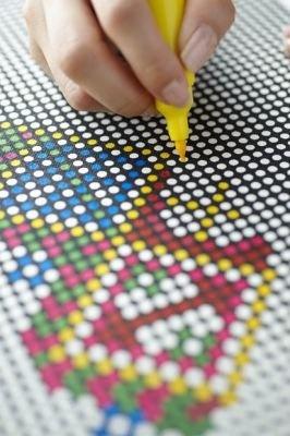 56×77の白いドットに色を付けるだけ!