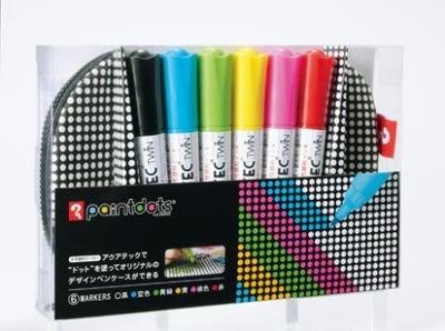 ペンケース/L(¥2940)には6色の「アクアテックツイン」付き