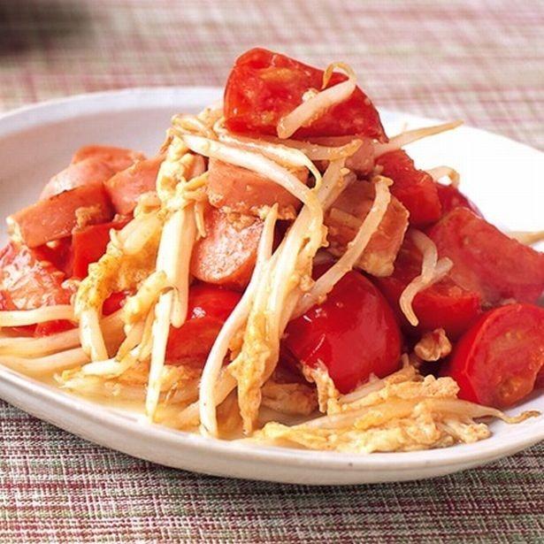 トマトの酸味でさっぱりと新鮮な味わい