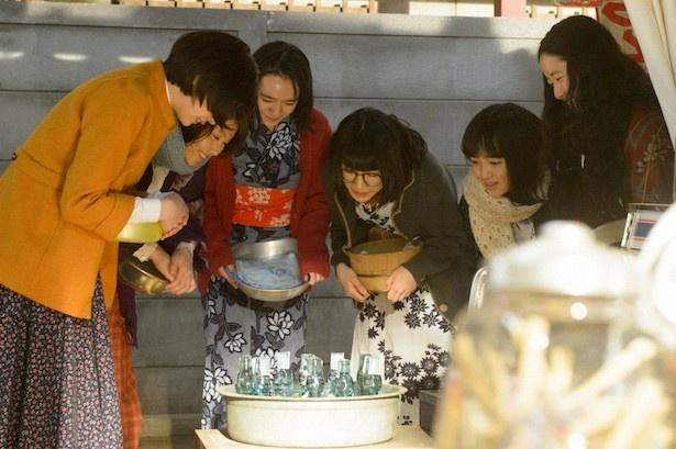 八木は松本穂香演じる澄子を「面白い!」と絶賛