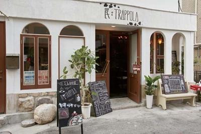 品ぞろえ豊富なイタリアン。ワインや日本酒を中心に自家製酒やノンアルコールもそろう/罠:TRAPPOLA
