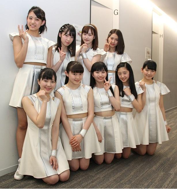つばきファクトリーが「アイドルお宝くじ」(テレビ朝日ほか)に出演。メンバーが、パフォーマンスの見どころなどを語ってくれた