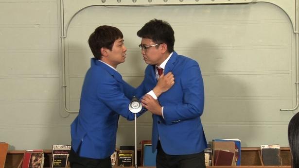 M-1王者・銀シャリもつかみ合いに!?