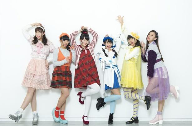 ベボガ!(虹のコンキスタドール黄組)が5月17日、東京・AKIBAカルチャーズ劇場で定期公演を開催。3rdシングル「4文字メロディー」を8月22日(火)にリリースすることを発表した