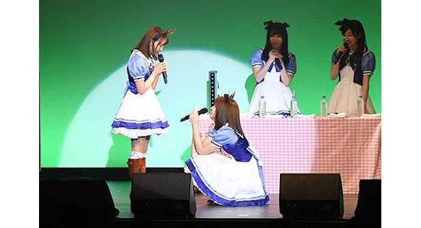 ドヤ顔3人衆の圧倒的なステージはまさに怪物、皇帝、女帝!「ウマ娘 プリティーダービー」CD第6弾発売記念イベント